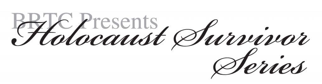 Holocaust Survivor Series Logo