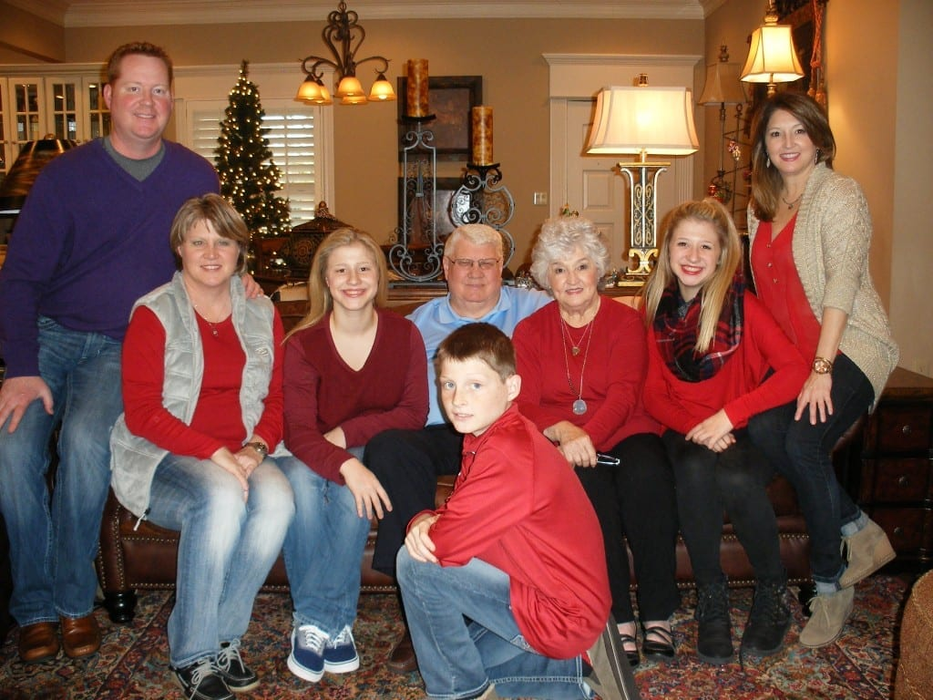 The Larry Don Rose Family: Larry Don and Frances; Carmen, Ashlyn, Alexis; and Leigh Ann, Ryan, and Landon