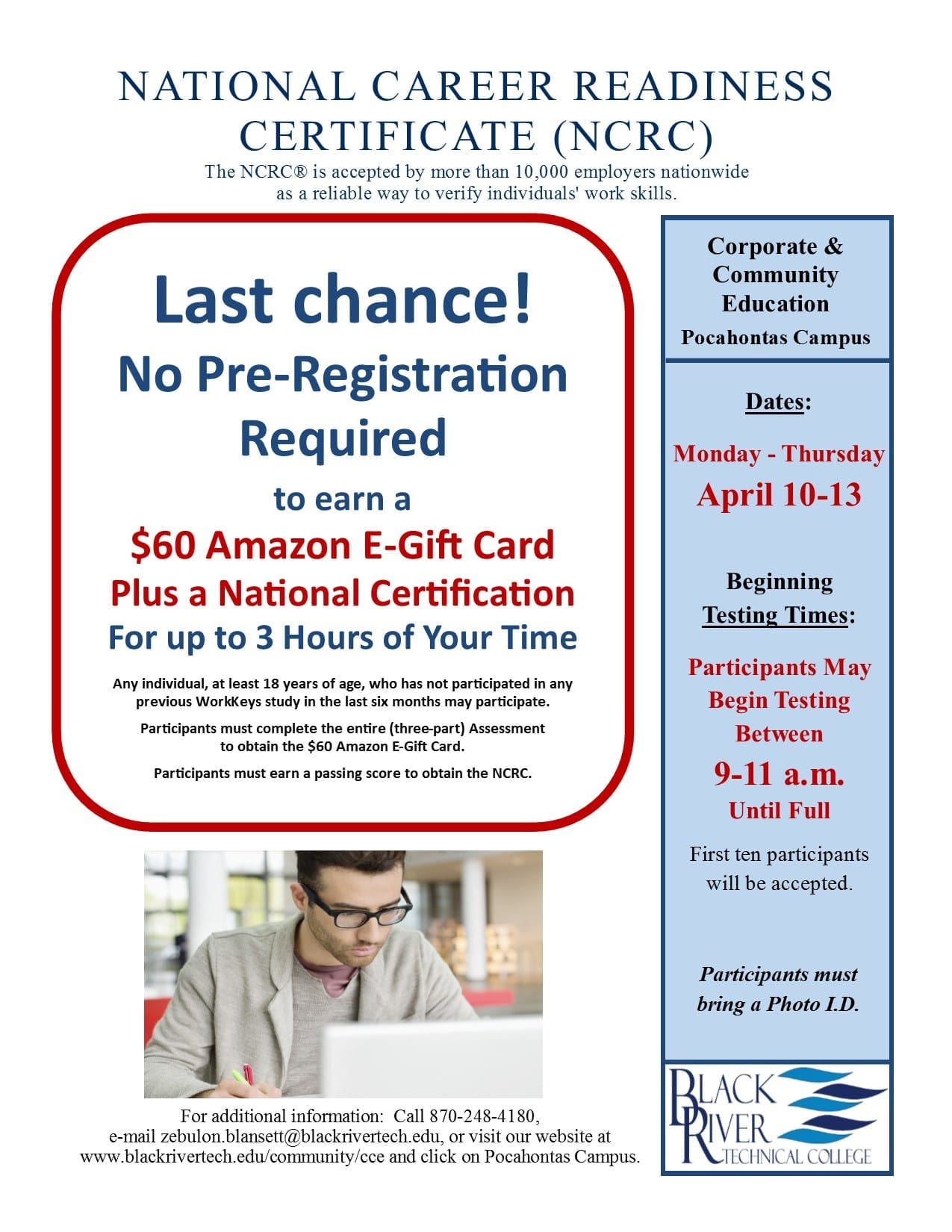 certificate readiness career national college ncrc