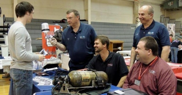 Technical Education Department is Represented at Local Career Fair