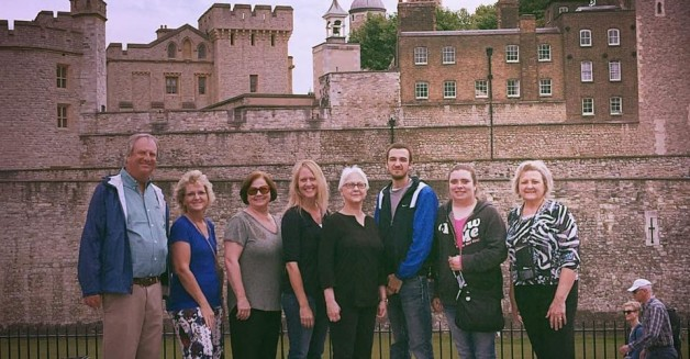 BRTC Group Visits London, Stonehenge, and Bath