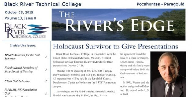The River's Edge- Volume 13, Issue 8
