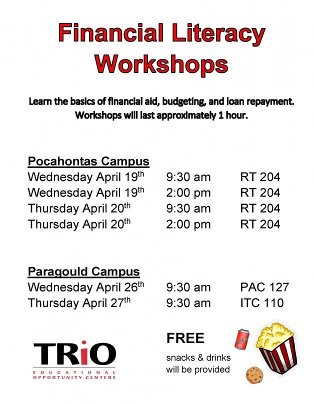 TRIO Financial Literacy Workshop