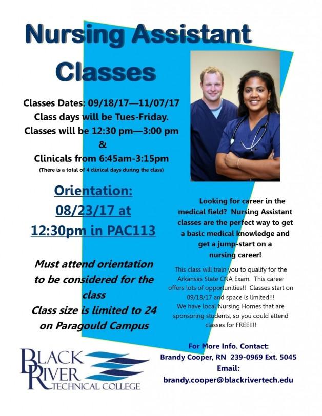 Paragould-Nursing Assistant Classes