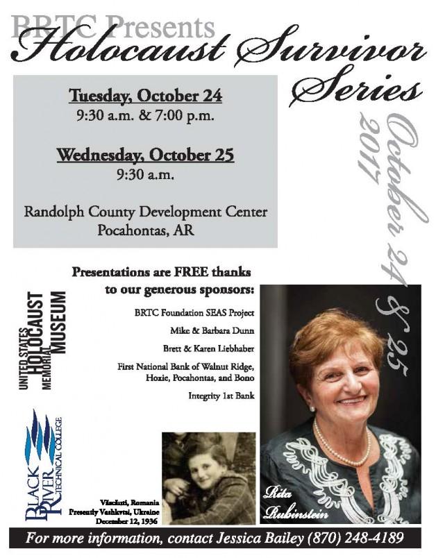 Holocaust Survivor-Rita Rubinstein