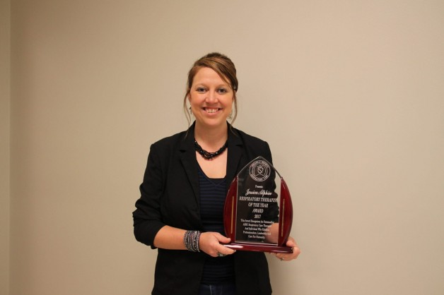 Alphin Names Respiratory Therapist of the Year