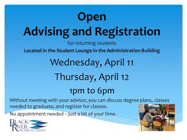Open Advising and Registration