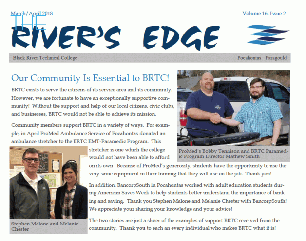 The River's Edge, Volume 16, Issue 2