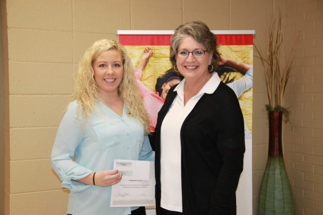 Stephanie Hicks Receives Spring 2019 Mary Sallee Single Parent Scholarship