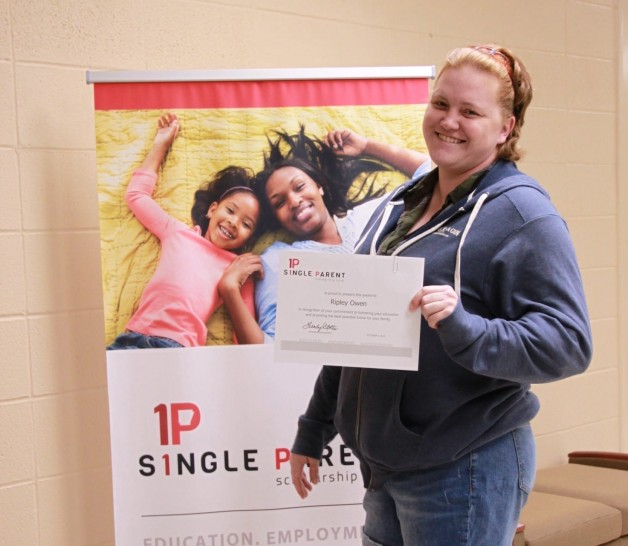 Arkansas Single Parent Scholarship Fund, Randolph County, Awards Scholarship to Ripley Owen