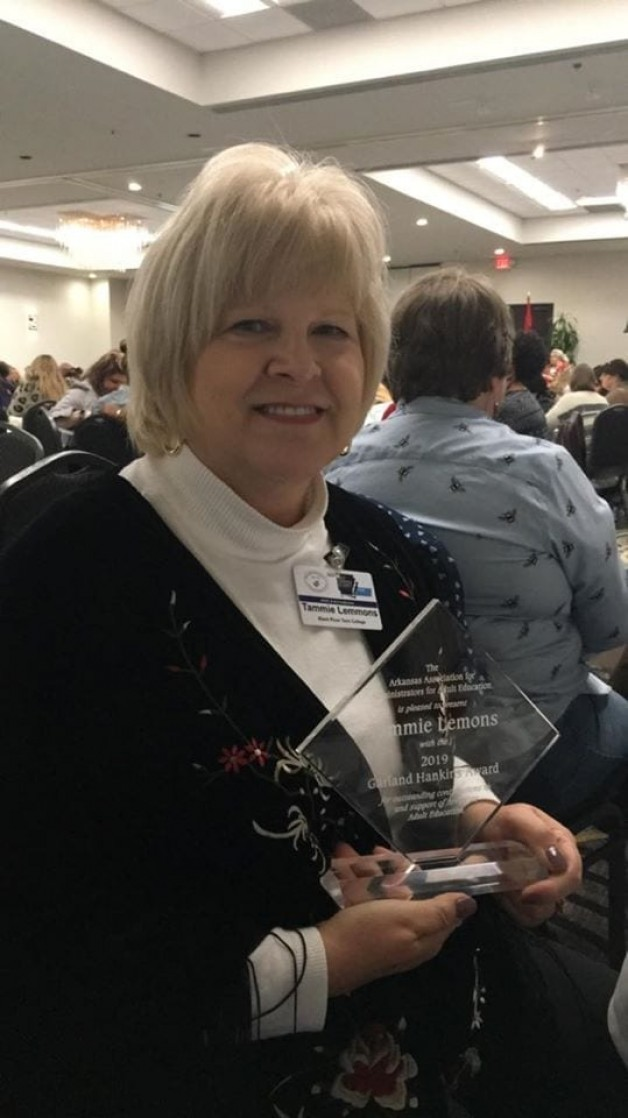 BRTC Director of Adult Education Receives Award at State Conference