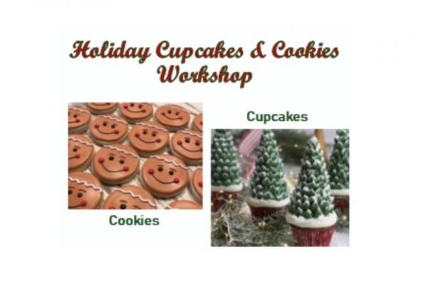 Holiday Cupcakes & Cookies Workshop
