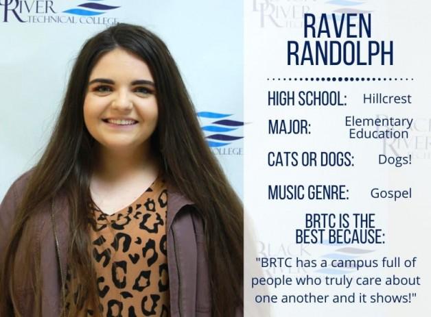 Student Spotlight:  Raven Randolph