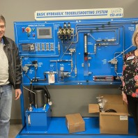 BRTC Paragould Purchases New Hydraulic Training System for Students