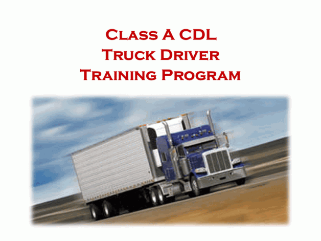 August CDL Truck Driver Training Program