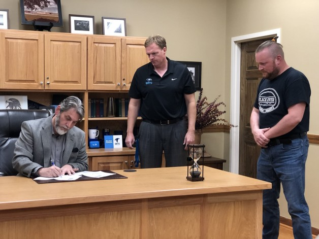 BRTC Receives 2 Firearms Licenses