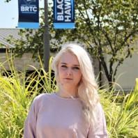 BRTC Awards Sylvia Cagle Single Parent Scholarship to Katelyn Adams