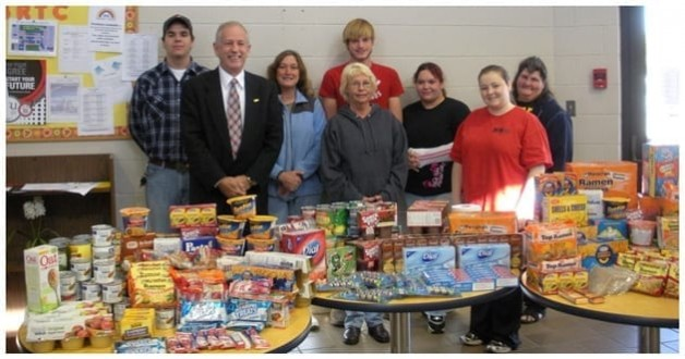 """""""Backpacks for Kids"""" is Focus of FEA Service Project"""