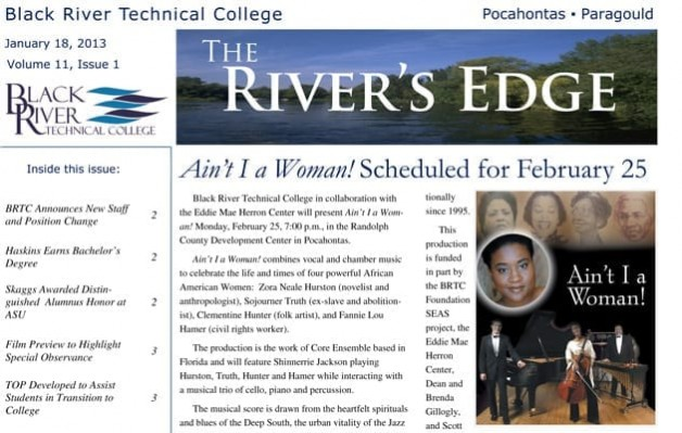 The River's Edge – Volume 11, Issue 1