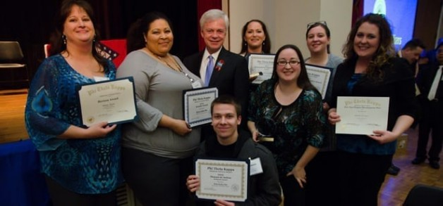 PTK Received Top Honors at Two Recent Conventions