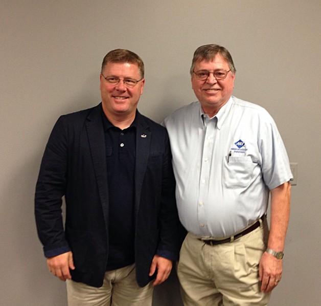 GTITC Board President Dean Inman and Congressman Rick Crawford