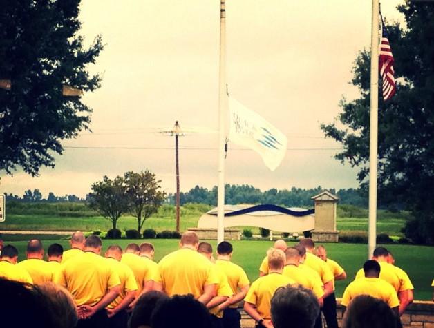 BRTC LETA Cadets Hold Memorial for 9/11
