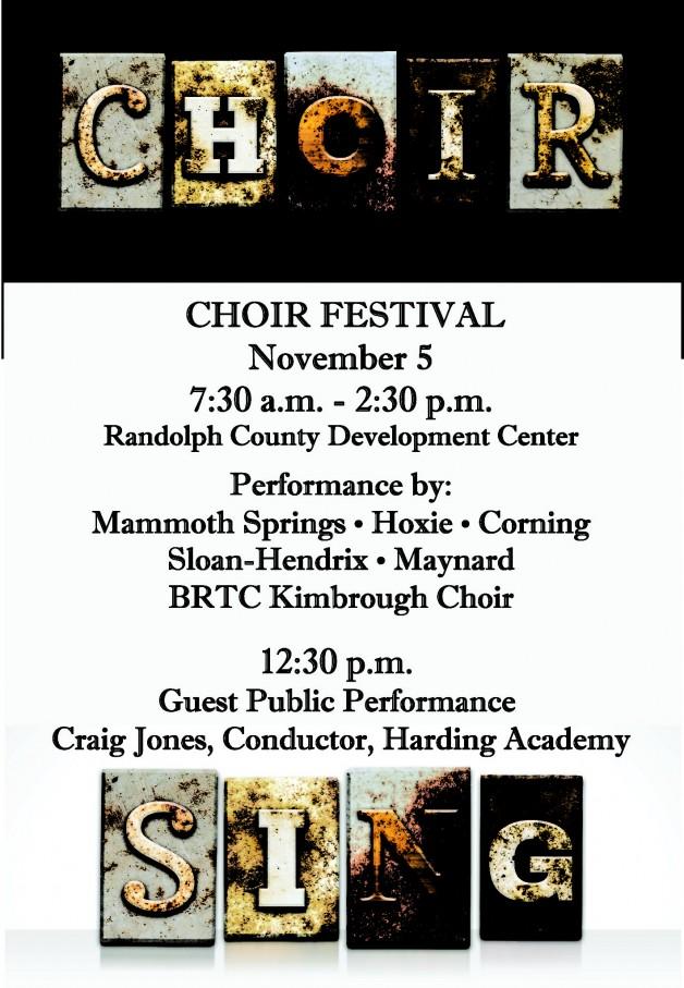 BRTC Choir Festival
