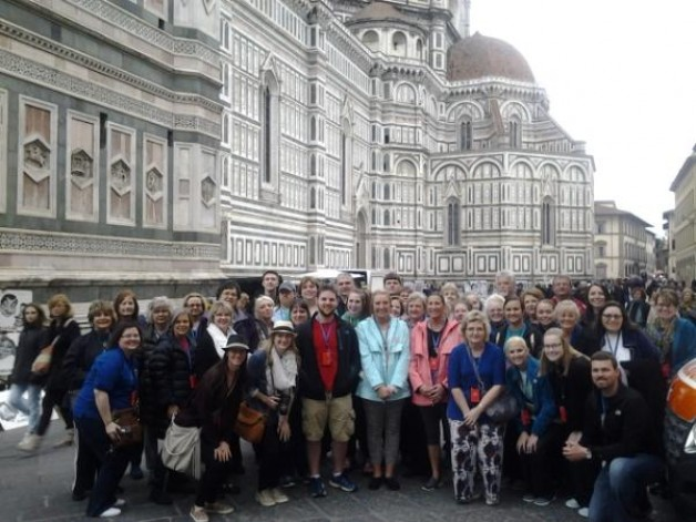 Group Visits Italy over Spring Break