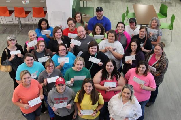 RN, LPN, and CNA Students Receive Reimbursement