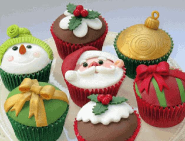 Christmas Cupcakes Galore!
