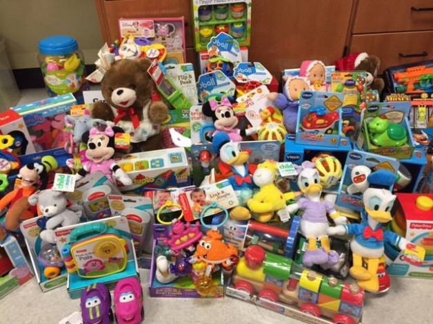 BRTC Day of Caring Gives Toys to More than 200 Children of BRTC Students