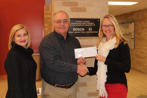 Robert Bosch Tool Company Donates $2,500 to BRTC Foundation