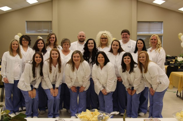 BRTC Practical Nursing Pinning and Graduation Held at First Baptist Church in Pocahontas