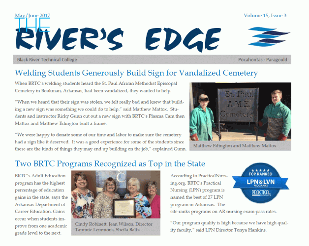 The River's Edge-Volume 15, Issue 3