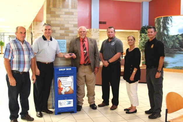 Chief Tackett Accepts Key to BRTC Drug Box Transfer