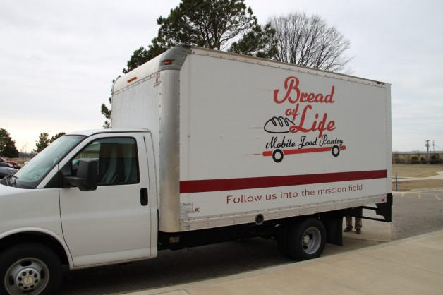 The Bread of Life Mobile Food Pantry
