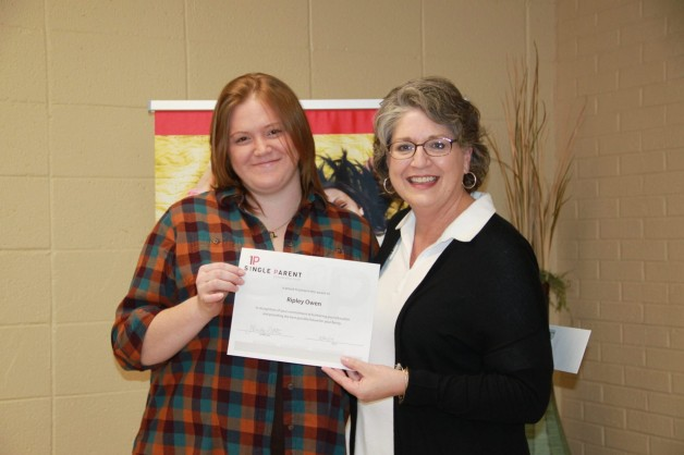 Summer 2019 Mary Sallee Single Parent Scholarships Awarded to Ripley Owen