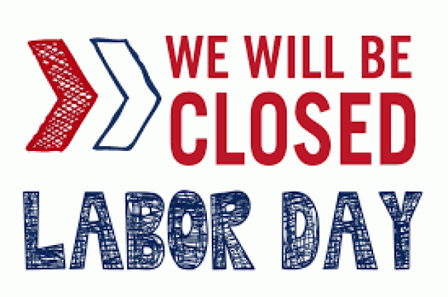 BRTC Campuses Closed Monday, September 2 for Labor Day