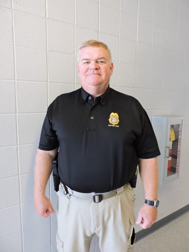 BRTC Law Enforcement Instructor Mark Mosier Earns Bachelor's Degree