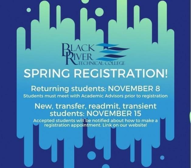 Spring 2020 Registration for Returning Students Begins Today!
