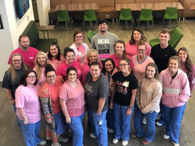 BRTC's Practical Nursing III Class Brings Awareness to Cancer