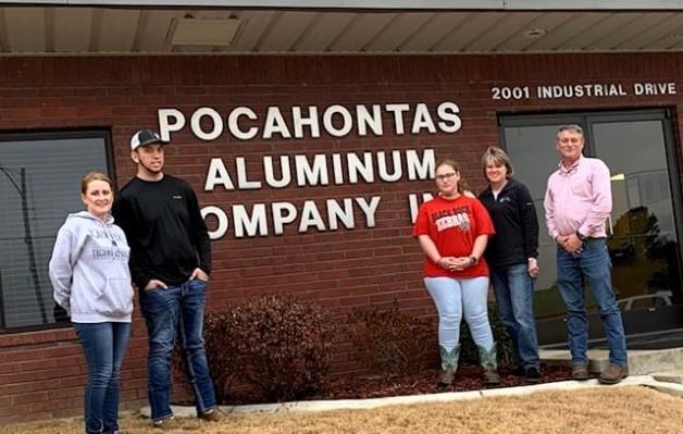 BRTC TOPSS Students Visit Pocahontas Aluminum