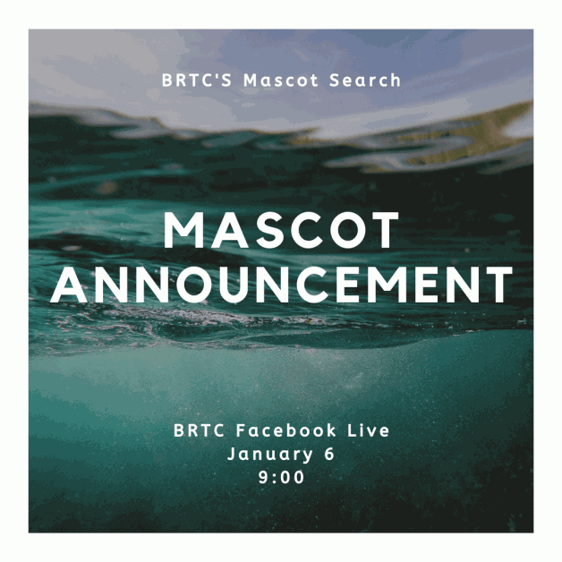Join Us 1/6 for BRTC's Mascot Announcement!