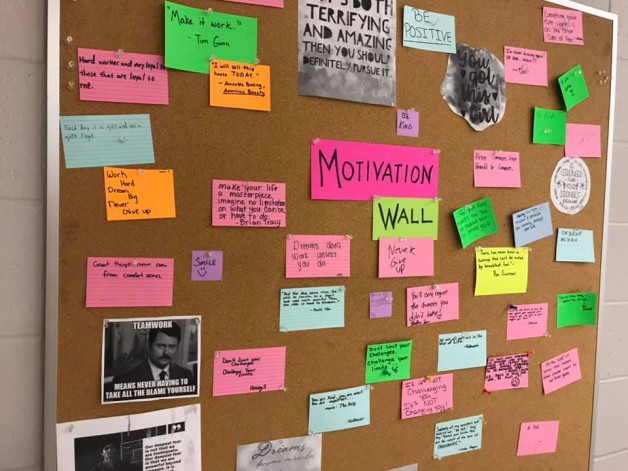 BRTC English Instructor Encourages Motivation in Her Classroom