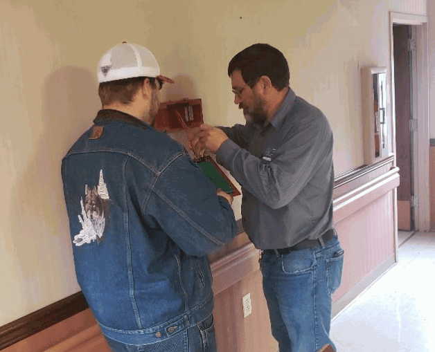 BRTC Maintenance Crew Fixes Problems at Old Hospital