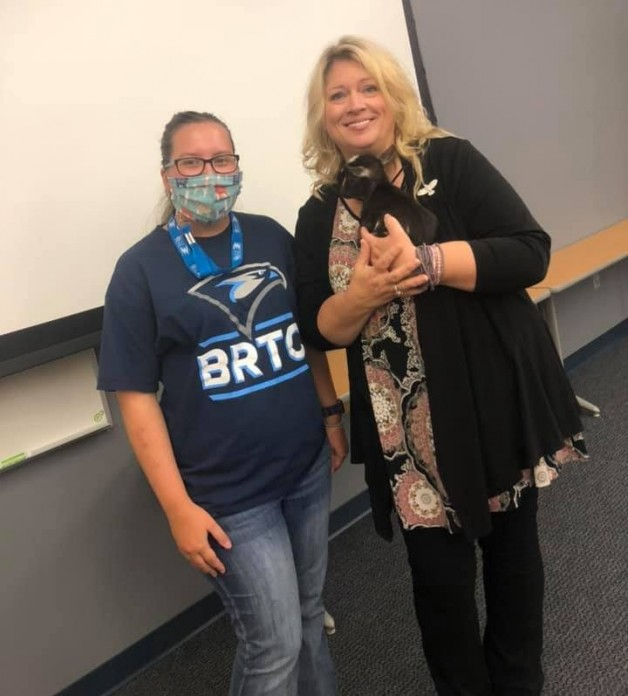 BRTC's Seminars in Agriculture Course Has Guest Speaker and Visitor