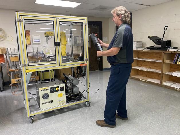 FANUC Robotics Training System Arrives at BRTC