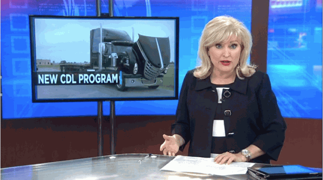 Black River Technical College's new CDL training program gets underway