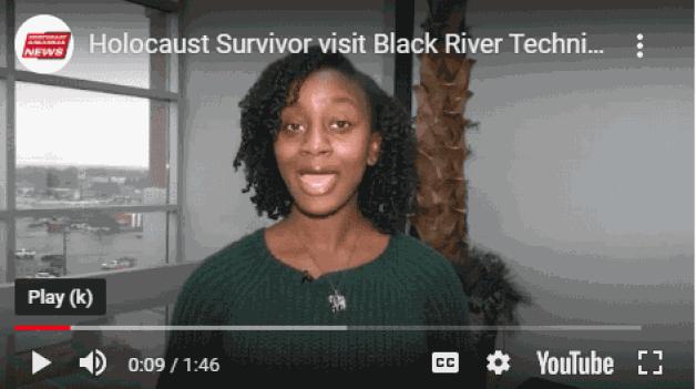 Holocaust Survivor visits Black River Technical College
