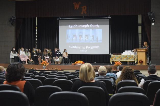 Kelsie Cagle Speaks at Ralph Joseph Youth Leadership Program Graduation Ceremony